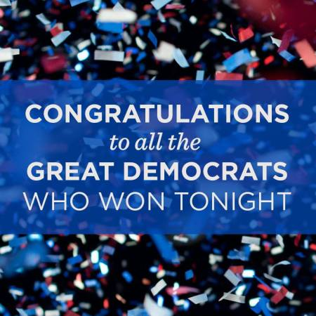 Democrats Win Across Virginia
